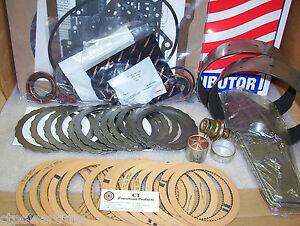 A4LD Super Master Premium Rebuild Kit W- Steels Modulator 2 Flex Bands 1985-1989