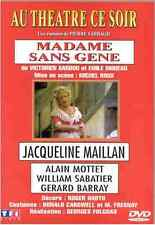 DVD COMME NEUF Théatre ce soir Madame sans gene Jacqueline Maillan V Sardou