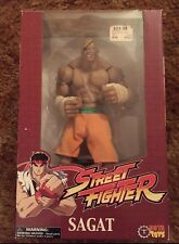 "SAGAT Street Fighter 10"" Limited Orange VARIANT Edition Figure 451/2000 SOTA Toy"