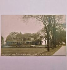 Antique Real Photo Postcard President William Howard Taft Home Beverly Mass.