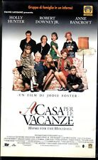 A casa per le Vacanze (1996) VHS  Medusa Jodie Foster Holly Hunter Anne Bancroft