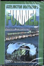 BURLINGTON NORTHERN'S FUNNEL PENTREX DVD VIDEO OLD POWER B30-7s SD45-2s B39-8