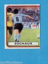 FRANCIA-FOOTBALL 82-PANINI-Figurina n.273- IN ACTION Left Side - SOCHAUX -Rec