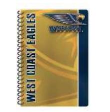 West Coast Eagles AFL Team A5 Notebook