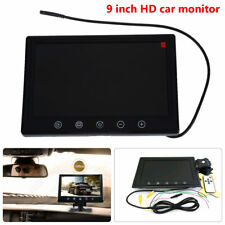 9 inch TFT 16:9 screen LCD Car Rearview Color Monitor for VCD DVD GPS Camera