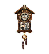 Ned Kelly Such Is Life Cuckoo Clock with Sound and Motion