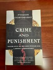 Vintage Classics Ser.: Crime and Punishment by Fyodor Dostoevsky (1993, Trade P…