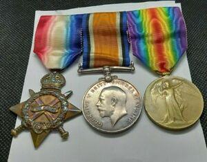 HMS WARSPITE Battle Of Jutland Medal Trio To Winkleigh, Devon Man