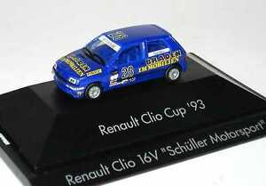 1:87 Renault Clio 16V Clio Cup 1993 Braden Nr.28 Fred Blanc - Herpa 035866