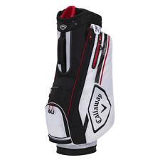 Callaway CHEV 14 Cart Golf Bag - White/Black/Fire - New 2021