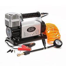 Dynamic Power 12V 210L/Min Portable Air Compressor - Silver