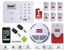 D3D Smart Home Security System - Android + iOS App, Fire Sensor,Motion detection