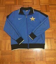 Inter Milan Serie A Itally Blue Adult Medium Nike Soccer Zipper Track Jacket