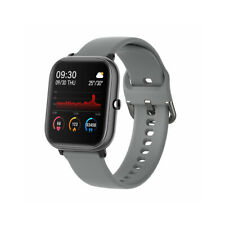 P20 Health Monitor 1.4-inch HD Full Touch Screen Smart Watch,gray