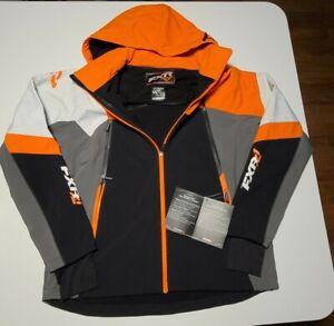 FXR Renegade Mens Snow Jacket Black/Orange/XXL NWT