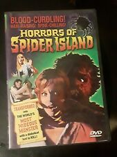 Horrors of Spider Island (Dvd, 2004)