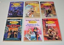 LOT OF SIX BOOKS - ILLUSTRATED CLASSIC THRILLERS EDITIONS -NOS