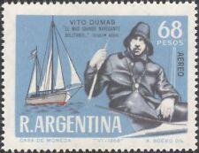 Argentine 1968 Vito Dumas/Bateaux/Voile/Voile/transport/marine 1 V (n45307x)