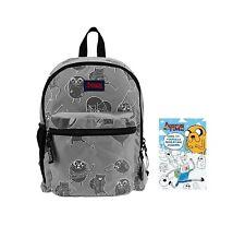 Adventure Time Jake & Finn Backpack School Bookbag Dude-It-Yourself Journal Book