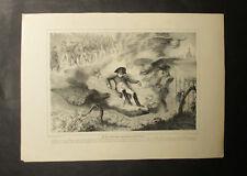 """""""LE GRAND HOMME APPARTIENT À LA FRANCE""""  Dupin Lithographie 1840 Napoléon"""