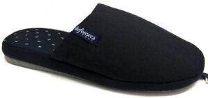 .DE FONSECA pantofole ciabatte uomo cotone mod. Roma TOP E M614 blu  slippers