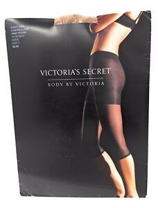 NEW Victorias Secret C Nude Capri Footless Control Top Pantyhose Almost Vintage