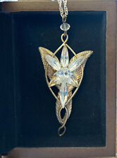 Lord of the Rings 'Arwen Evenstar' Noble Collection Authentic Silver w/Box