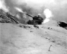 New 8x10 Korean War Photo: Tank of 6th Tank Battalion Near Song Sil-li, Korea