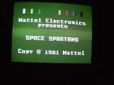 Space Spartans Intellivision 1982 Game Working Copy Intellivoice Game CIB