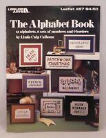 Alphabet Book Cross Stitch Patterns Leisure Arts Leaflet 457 Numbers Borders