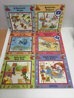 6x Books - The Busy World of Richard Scarry - Read Along Books Illustrated