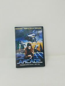 Arcade The Game Wants to Play With You DVD Horror Sci-Fi Full Moon