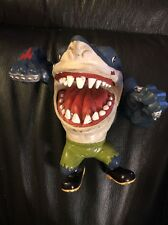 1995 Street Wise Designs Street Sharks Ravenous Ripster Figure