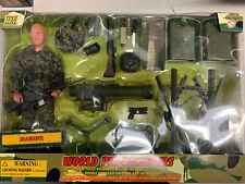 "Power Team Elite World Peacekeepers Marine With Launcher  12"" Figure"