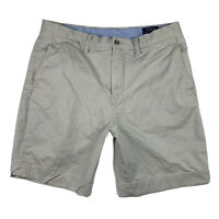 Polo Ralph Lauren Men 35 Stretch Classic Fit Shorts The Polo Chino Cotton Beige