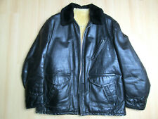 VESTE CUIR PERFECTO SCHOTT T.50 LEDERJACKE LEATHER CAR COAT BARNSTORMER