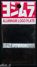 (TUNING) STICKER /Autocollant- YOSHIMURA /57x8mm /METAL /PRODUIT ORIGINAL /JAPAN