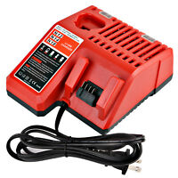 Charger 48-59-1812 for 12V-18V Milwaukee M12 M14 M18 Lithium Battery 48-11-2420