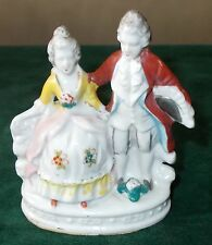 Vintage Occupied Japan Figurine of Victorian Lady and Man