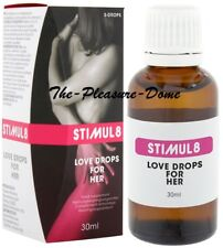 Stimul8 Love Drops For Her 30ml Spanish Fly Aphrodisiac  Free Post