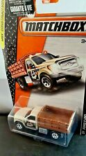 MATCHBOX 2014 MBX CONSTRUCTION FORD F-150 NO:48/120 BEIGE / BROWN LONG CARD