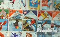 Motive 200 verschiedene Winterolympiade Marken