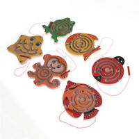 Wooden Puzzle Children Magnetic Animal Maze Toys Intellectual Jigsaw Board NPZY