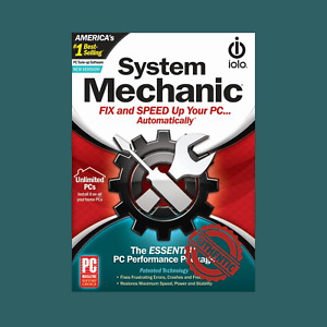iOLO System Mechanic 2021 Unlimited PC 1 Year Activation Key Global Subscription