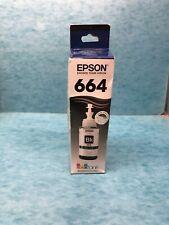 Epson EcoTank 664 Black Ink Cartridge (T664120-S) 1748597 (05/2018)