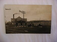 Real Photo Postcard RPPC Oliver Typewriter Factory Woodstock Illinois IL #990