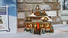 Carole Towne Railway Station Railroad Train House Christmas Village Lemax 2005