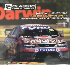 1:18 scale model car 2008 Jamie Whincup Red Dust Vodafone Ford BF Falcon #18588