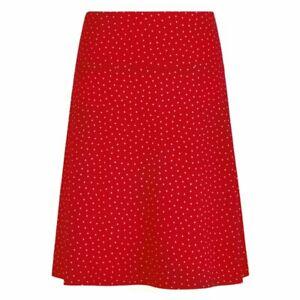 King Louie Border Skirt Little Dots, Chilli Red, in Größen S, M, XL, XXL