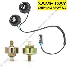 2 Knock Sensor with Harness Pair Kit for Chevy Silverado 1500 GMC Sierra Hummer
